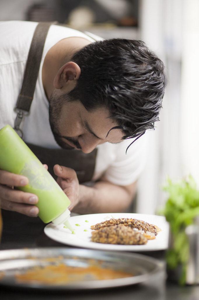 Miguel Valdiviezo Chef de Tampu